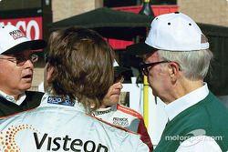 Jimmy Vasser et Roberto Moreno