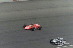 Vintage race: Lotus 56B, Cooper-Climax