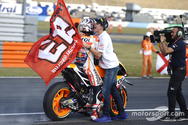 Ganador, Marc Márquez, Repsol Honda Team, Alex Marquez, Marc VDS