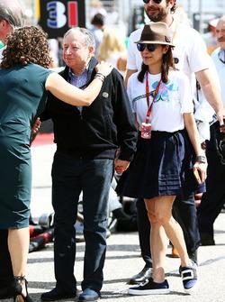 Jean Todt, FIA-Präsident, mit Ehefrau Michelle Yeoh