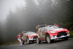 Стефан Лефевр и Жиль де Тюркхайм, Citroën DS3 WRC, Abu Dhabi Total World Rally Team; Квентин Жильбер и Рено Жамуль, Citroën DS3 WRC, Abu Dhabi Total World Rally Team