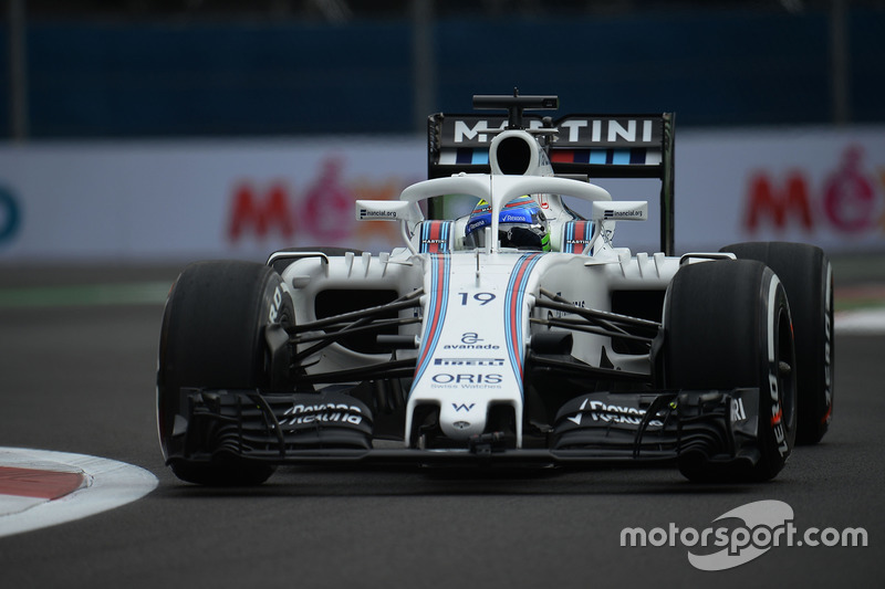 Felipe Massa, Williams FW38 with the Halo cockpit cover