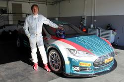 Heinz-Harald Frentzen testet EGT