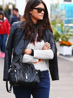 Linda Morselli, girlfriend of Fernando Alonso, McLaren