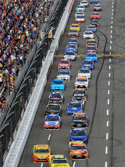 Matt Kenseth, Joe Gibbs Racing, Toyota, führt