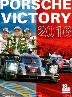 Porsche Victory 2016 book by René de Boer and Tim Upietz