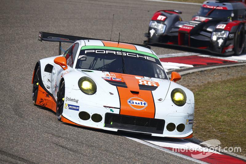30. #86 Gulf Racing Porsche 911 RSR: Майкл Вейнрайт, Адам Керролл, Бен Баркер