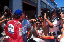 Ayrton Senna, McLaren ve Barry Sheene
