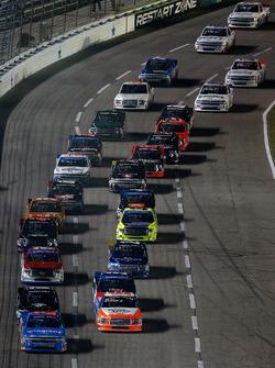 Start: Spencer Gallagher, GMS Racing, Chevrolet