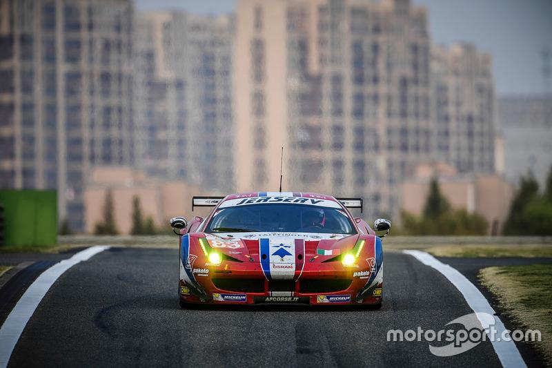 3. LMGTE-Am: #83 AF Corse, Ferrari 458 Italia: Francois Perrodo, Emmanuel Collard, Rui Aguas