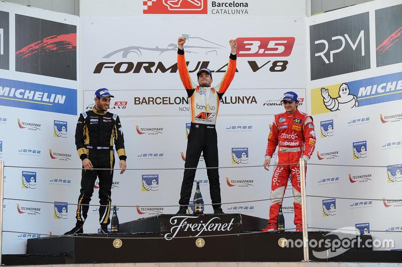 Dillmann, Nissany y Fittipaldi, el último podio de 2016