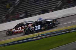 Josh Wise, The Motorsports Group Chevrolet, David Ragan, BK Racing Toyota