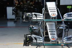 Носовые обтекатели Mercedes AMG F1 W07 Hybrid, Нико Росберг