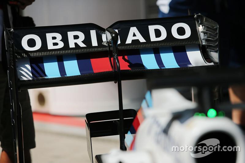 Sonderdesign für Felipe Massa