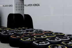 Pirelli tyres for McLaren