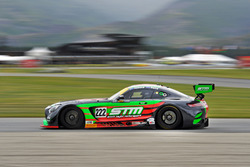 #222 Scott Taylor Motorsport Mercedes-AMG GT3: Craig Baird, Michael Almond