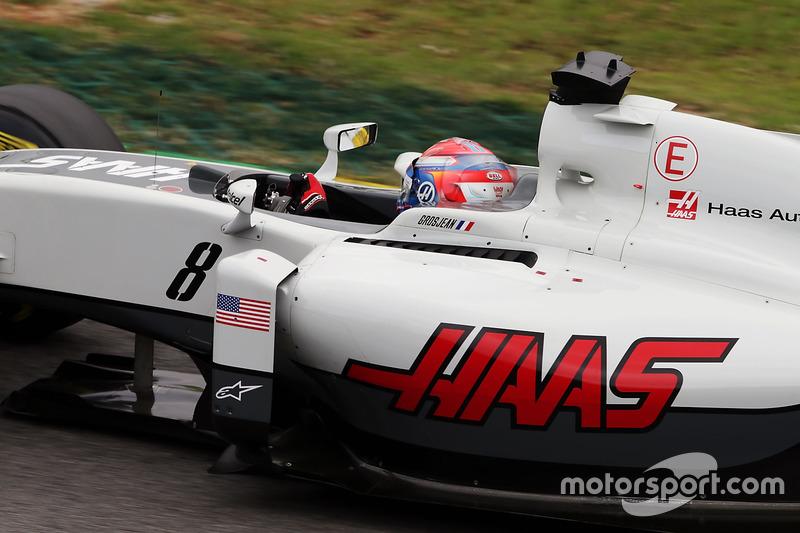 Romain Grosjean, Haas F1 Team, 1.11.937