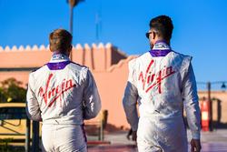 Jose Maria Lopez, DS Virgin Racing et Sam Bird, DS Virgin Racing