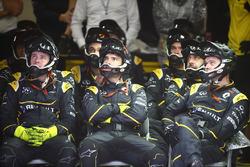 Les mécaniciens Renault Sport F1 Team