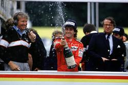 Weltmeister Alain Prost, McLaren