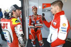 Cal Crutchlow, Team LCR Honda, Andrea Dovizioso, Ducati Team, Casey Stoner, Ducati Team