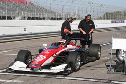 Gateway Motorsports Park testing