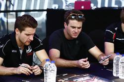 Jordan King, Racing Engineering; Oliver Rowland, MP Motorsport