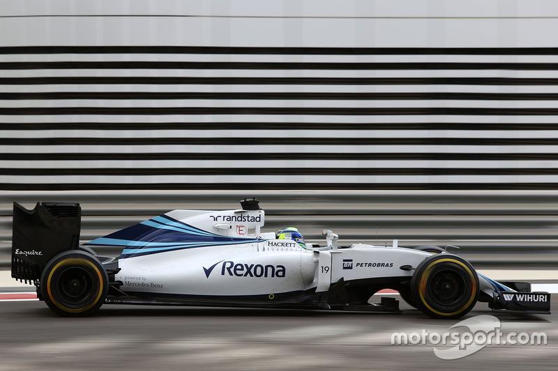 10. Felipe Massa, Williams F1 Team FW38