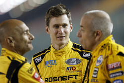 Nicky Catsburg, LADA Sport Rosneft, Lada Vesta; Gabriele Tarquini, LADA Sport Rosneft, Lada Vesta; Tom Coronel, Roal Motorsport, Chevrolet RML Cruze TC1