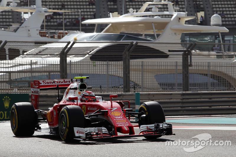 4. Kimi Räikkönen, Scuderia Ferrari SF16-H