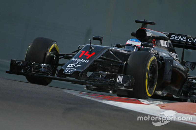 9: Fernando Alonso, McLaren MP4-31