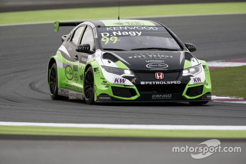 n°99 - Daniel Nagy, Honda Team Zengo, Honday Civic WTCC