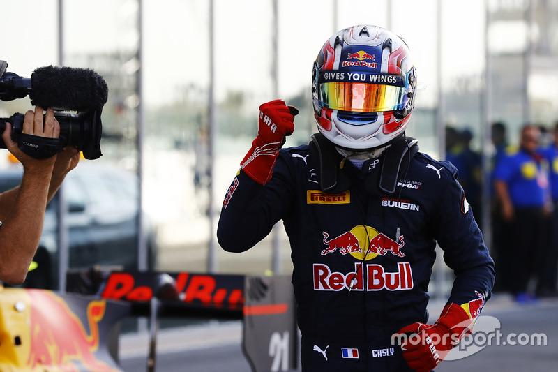 Le Champion GP2 2016 Pierre Gasly, PREMA Racing