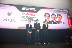 Sean Edwards Trophy nominees, Jules Szymkowiak, Luca Stolz, Dries Vanthoor