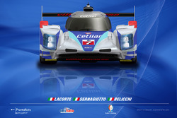 Livrea Dallara LMP2 Villorba Corse