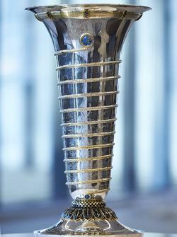 Trophäe für die Fahrerweltmeisterschaft der Formel 1