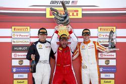 Podium: 1. Carlos Kauffmann, Ferrari of Fort Lauderdale; 2. Wei Lu, Ferrari of Vancouver; 3. Marcello Puglisi, Rossocorsa