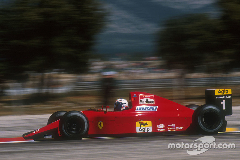 1990: Ferrari 641 (шесть побед, 2-е место в КК)