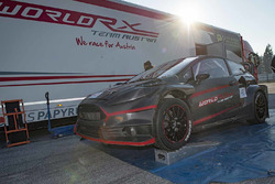 Alexander Wurz tests the World RX Team Austria Ford Fiesta