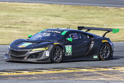 #86 Michael Shank Racing, Acura NSX: Oswaldo Negri Jr., Jeff Segal, Tom Dyer