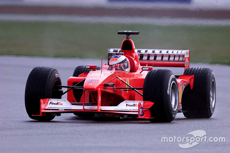 2000: Ferrari F1-2000 (десять побед, титул в КК)