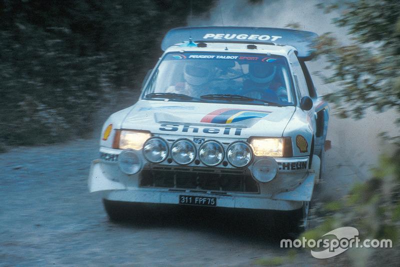 Andrea Zanussi, Paolo Amati, Peugeot 205 Turbo 16 Evo 2