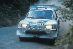 Андреа Занусси и Паоло Амати, Peugeot 205 Turbo 16