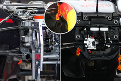 Red Bull Racing RB12 bulkhead