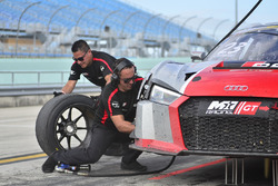 #23 MP1A Audi R8 GT3 LMS driven by Walt Bowlin, Larry Pegram, & David Ostella of M1GT Racing