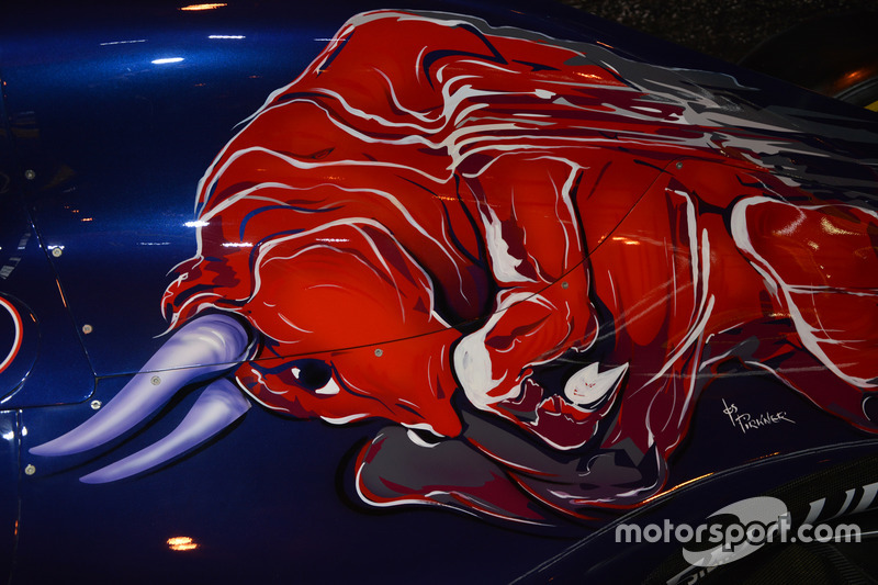 Red Bull laat zich zien