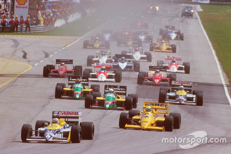 1987: 2. Williams-Saison mit bzw. gegen Mansell