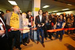 Dario Franchitti inaugura el show en sábado