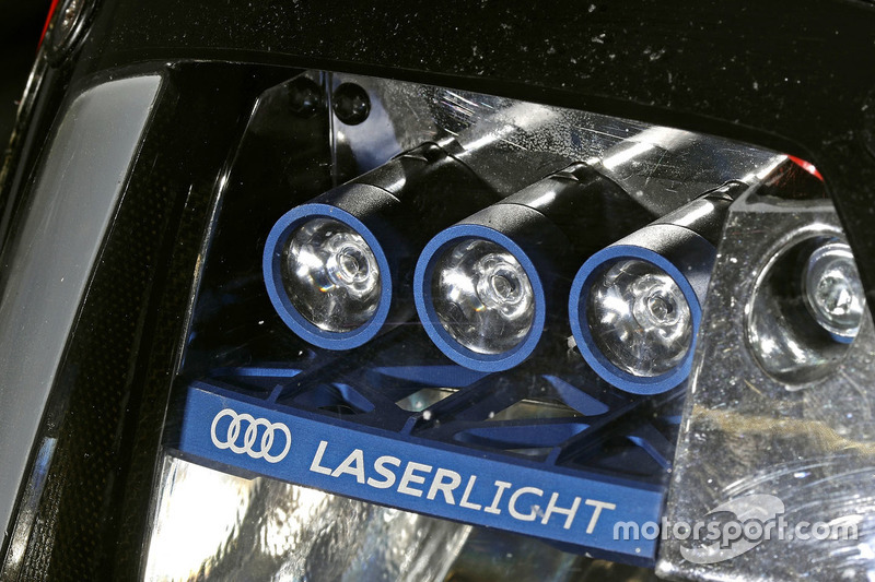 Audi R18: Scheinwerfer
