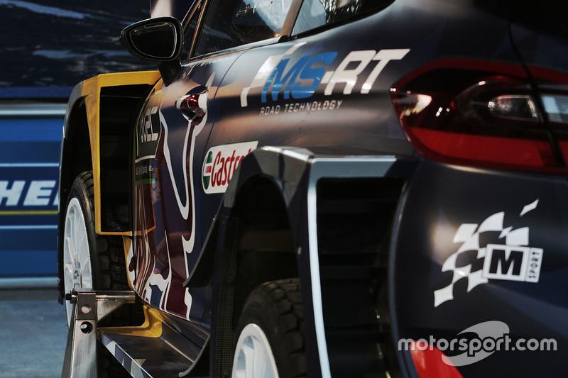 La Ford Fiesta WRC M-Sport